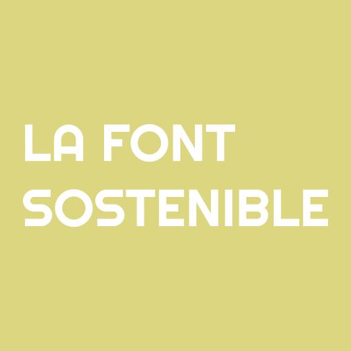 Logotip La Font Sostenible